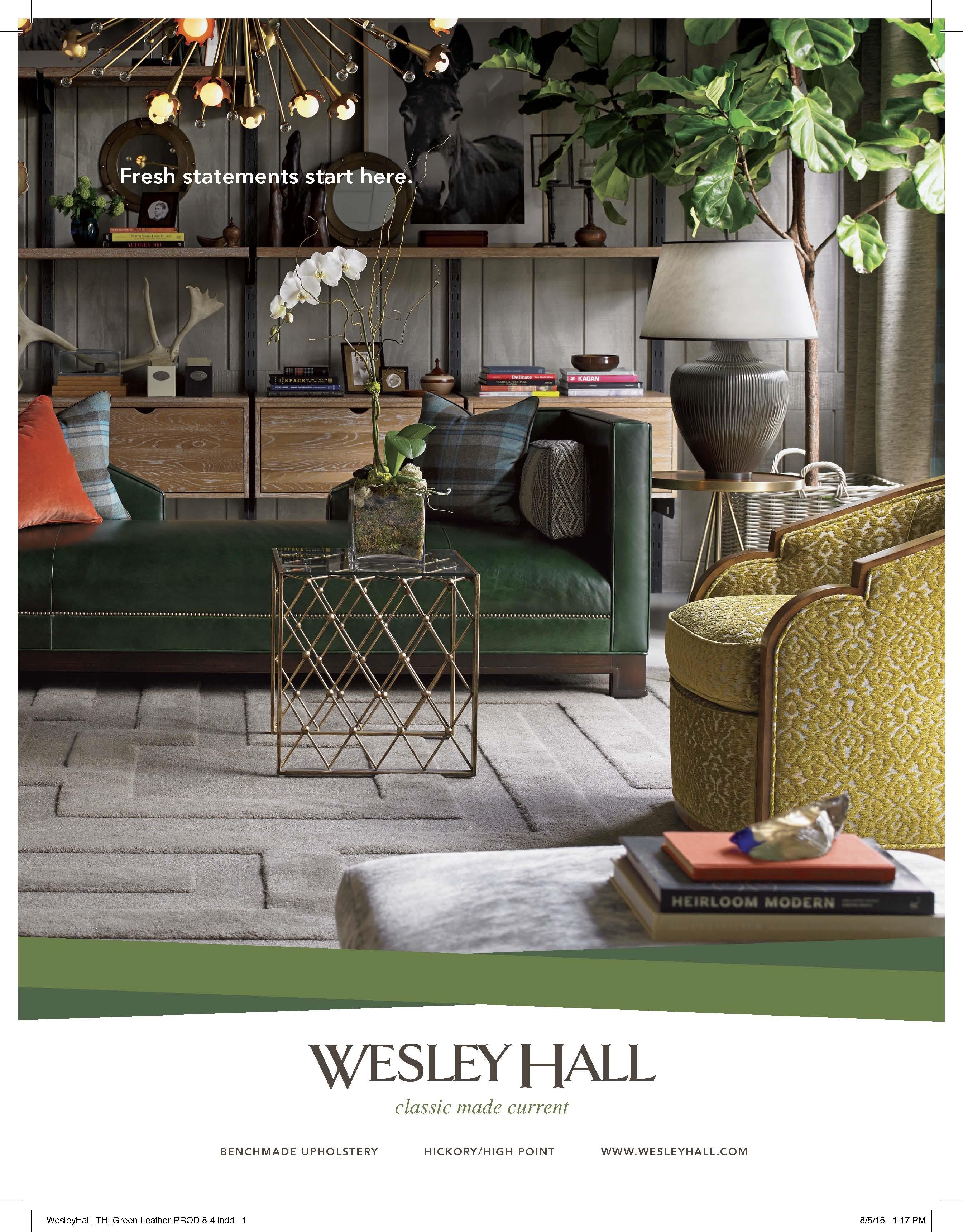 Wesley Hall Furniture National Ads